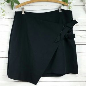 🆕 Halogen Asymmetrical Faux Wrap Pencil Skirt